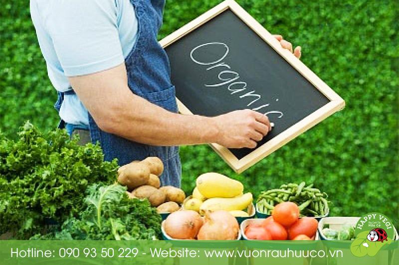 Happy Vegi - Phân biệt rau hữu cơ và rau sạch