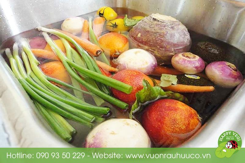Happy Vegi - Cách làm sạch rau